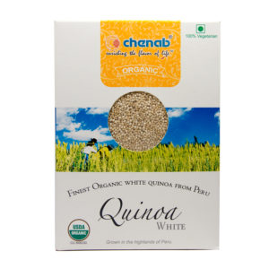 Organic White Quinoa from Peru