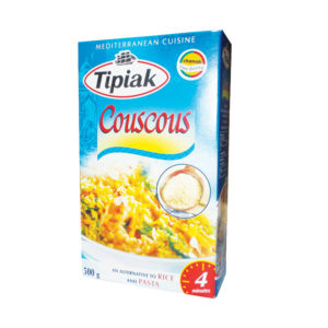 Tipiak Durum Wheat Couscous Natural Semolina