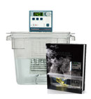 Sous Vide Cooking Kit (7306C+cage+tank+lid+book)