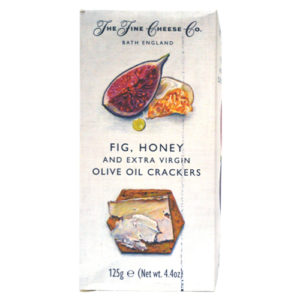 Fig and Extra Virgin Olive Oil Crackers
