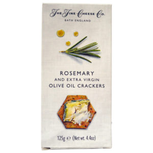 Rosemary and Extra Virgin Olive Oil Crackers