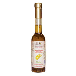 Flavored extra virgin olive oil with Mediterranean Herbs & Spices