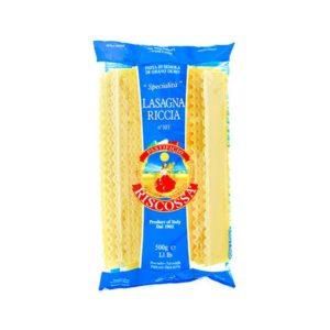 Lasagna Riccia Durum wheat semolina Pasta