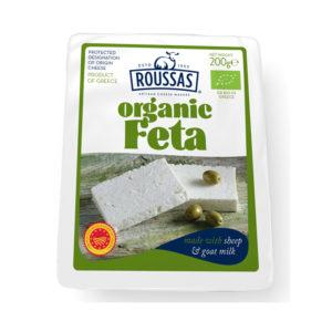Organic Feta Cheese P.D.O. (Vacuum Pack)+C5