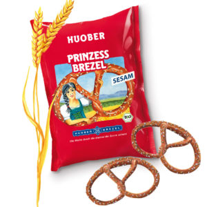 Huober Organic Princess Pretzel with Sesame