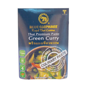 Gluten Free Thai Green Curry Paste