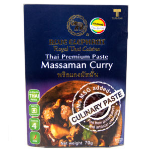 Blue Elephant Thai Gluten Free Massaman Curry Paste