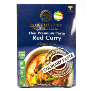 Blue Elephant Thai Gluten Free Red Curry Paste