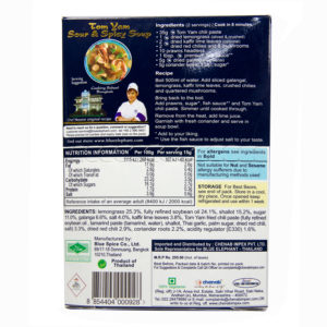 Thai Gluten Free Tom Yam Soup Paste