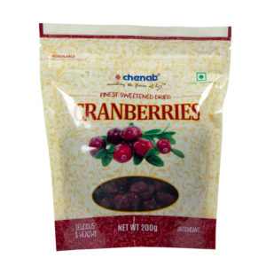 Premium Sliced, Dried Cranberries