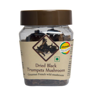 Black Trumpets Dried Mushrooms 130gms