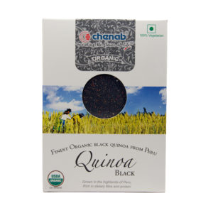 Organic Black Quinoa from Peru