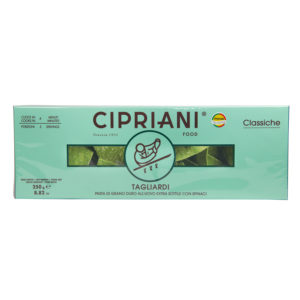 Tagliardi – Extra Thin Durum Wheat Egg Pasta With Spinach