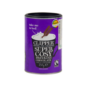 Clipper Super Cosy Drinking Hot Chocolate