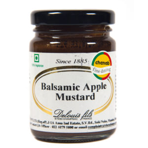 Balsamic Apple Mustard
