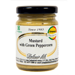Strong Mustard with green pepper corns