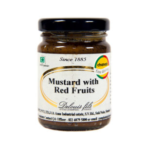 4 Red Fruits Mustard