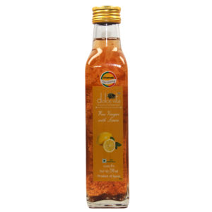 Dolce Vita Wine Vinegar With Lemon Flavour