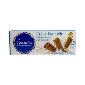 "Gavottes 18 Crispy "" Brittany Crepes"" Milk Chocolate Biscuits"