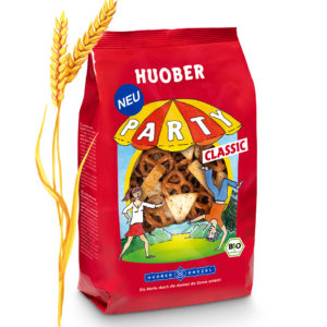 Huober Organic Savoury Biscuits Snacks Party Pack