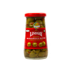 Spanish Manzanilla Olives Stuffed with Pimiento