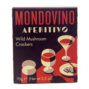 Mondovino Aperitivo Wild Mushroom Crackers