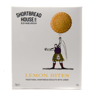Shortbread Biscuits with Lemon Bites