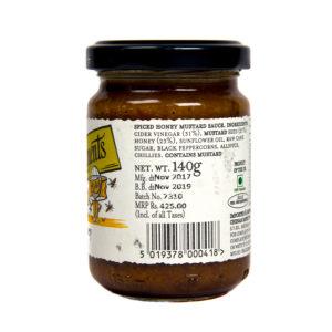 Spiced English Honey Mustard
