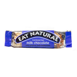 Milk Chocolate, Peanuts & Cranberries Snack Bar