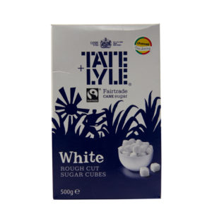 White Roughcut Sugar Cubes for Tea & Coffee