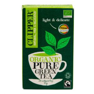Clipper Organic Pure Green Tea (unbleached bags) 26 TB