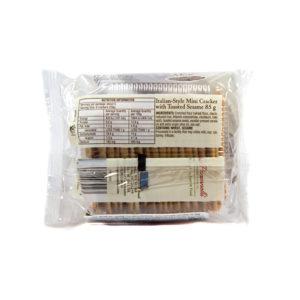 La Panzanella Mini Groccantini Toasted Sesame Artisan Crackers