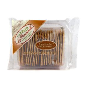 La Panzanella Mini Croccantini Whole Wheat Artisan Crackers