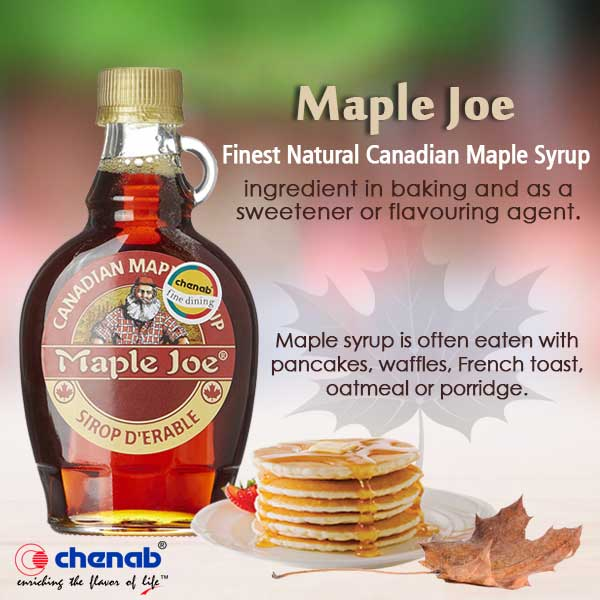 maple syrup chenab impex
